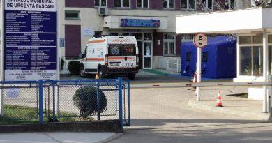 Doi bărbați infectați cu coronavirus au decedat în secția ATI, a Spitalului Municipal Pașcani